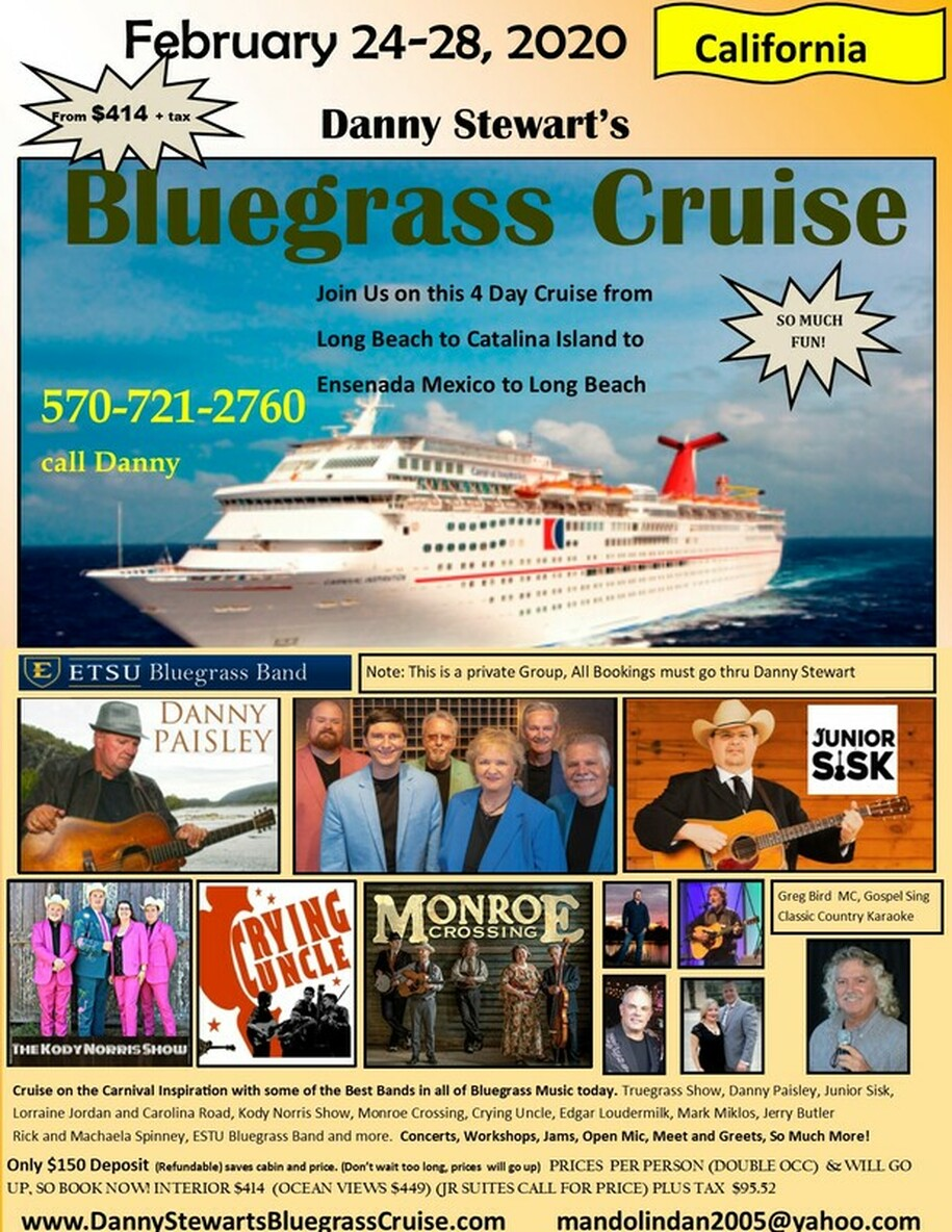Danny Stewart S Bluegrass Cruise Home